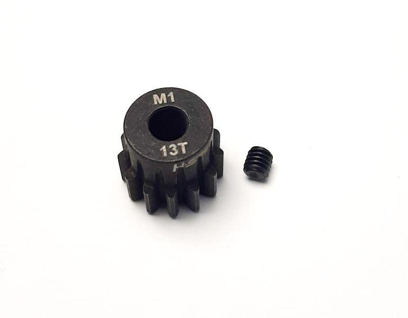 Ritzel 13 Zähne Modul 1, 5mm Stahl