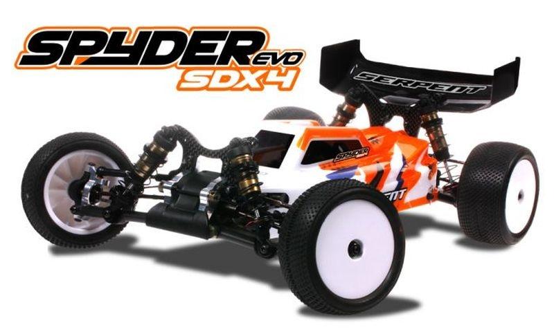 Serpent Spyder Buggy SDX4 EVO 1/10 EP