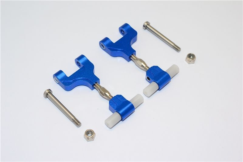 ALLOY REAR ADJUSTABLE UPPER ARM - 1PR blue