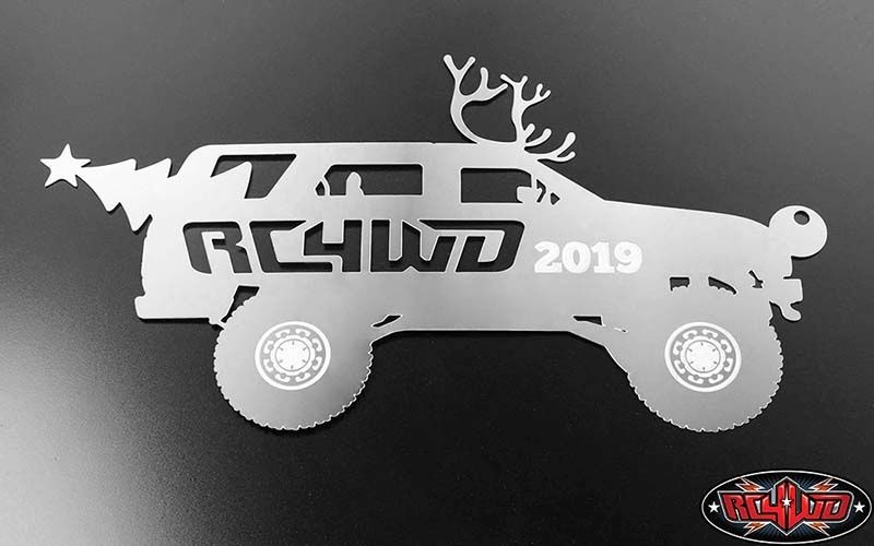 RC4WD Christmas Ornament 2019