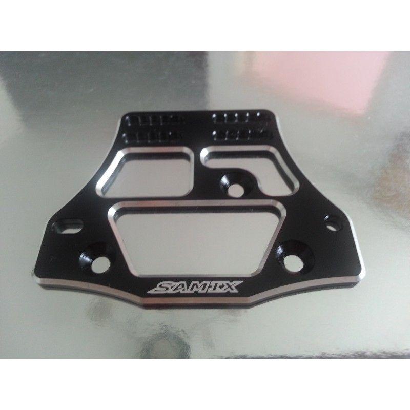 SAMIX SCX10 Samix 4 link servo plate black