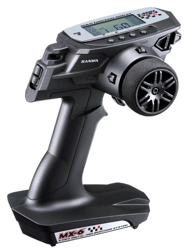 MX-6 DRY 1x RX-391W(waterproof Empfänger)/ohne Servos/TX/RX