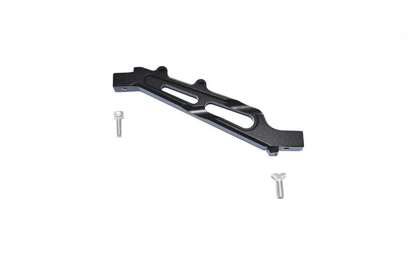 ALUMINUM FRONT CHASSIS BRACE -3PC SET black