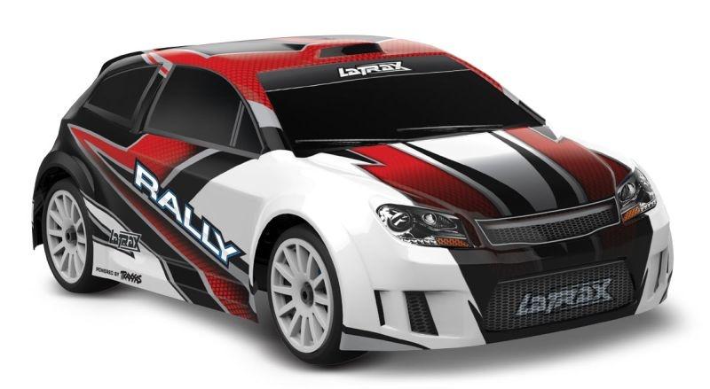 LATRAX Rally 4x4 rot RTR +12V-Lader+Akku