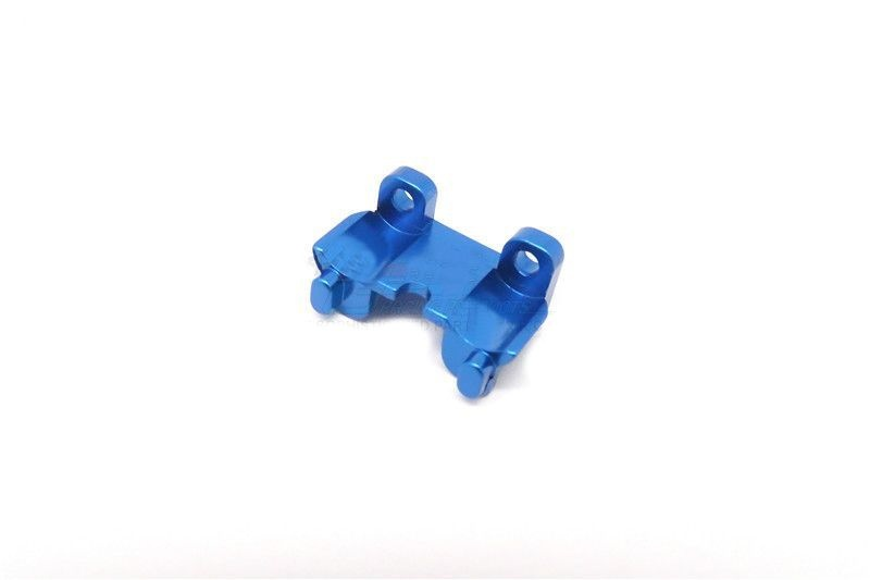ALLOY REAR SHOCK MOUNT - 1PC blue