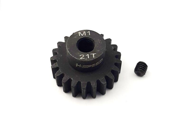 Ritzel 21 Zähne Modul 1, 5mm Stahl