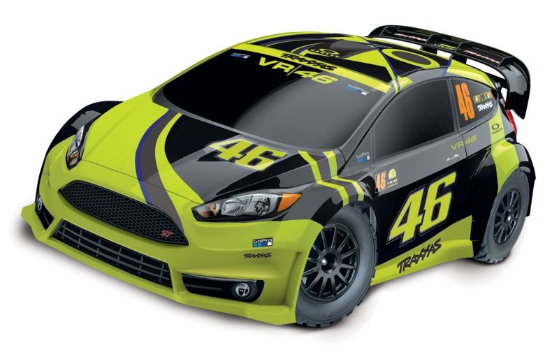 TRAXXAS Ford Fiesta ST Rally VR46-Edition