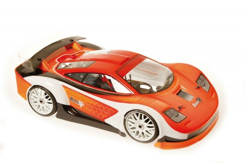 Body 1/8 GT painted orange