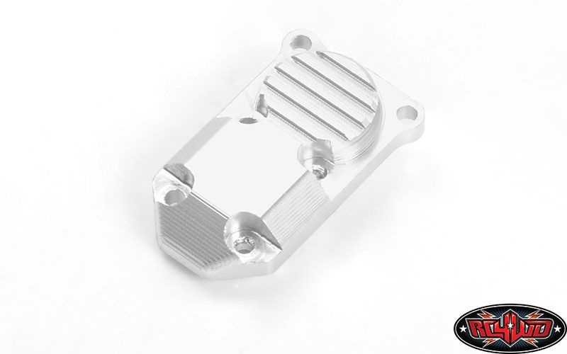 Micro Series Diff Cover for Axial SCX24 1/24 RTR (Silver)