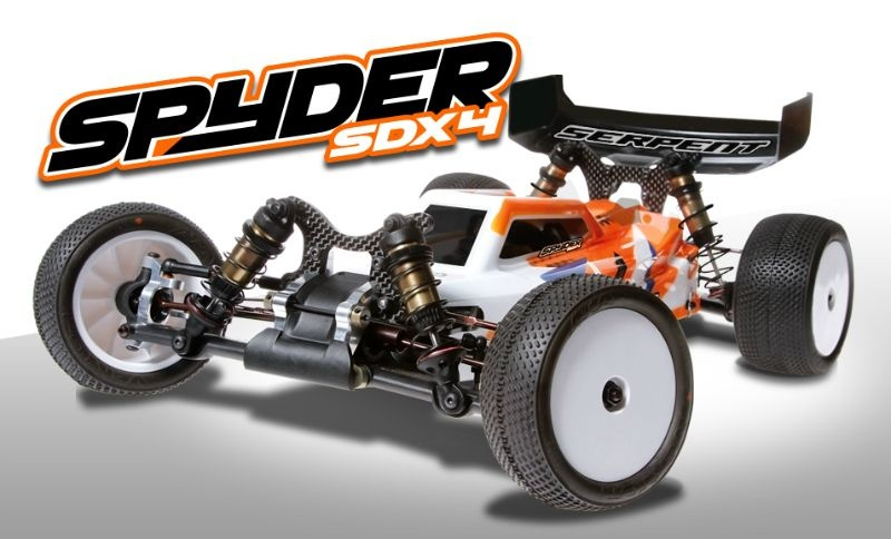 Serpent Spyder Buggy SDX4 1/10
