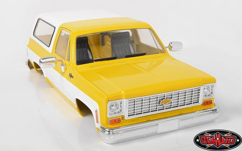 RC4WD Chevrolet Blazer Hard Body Complete Set (Yellow)