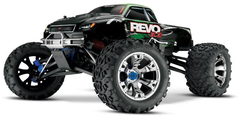 TRAXXAS Revo RTR 3.3R TQ-Wireless +12V-Lader &TSM