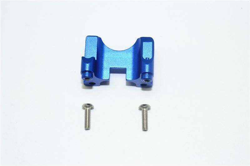 ALUMINUM REAR DAMPER MOUNT -3PC SET blue