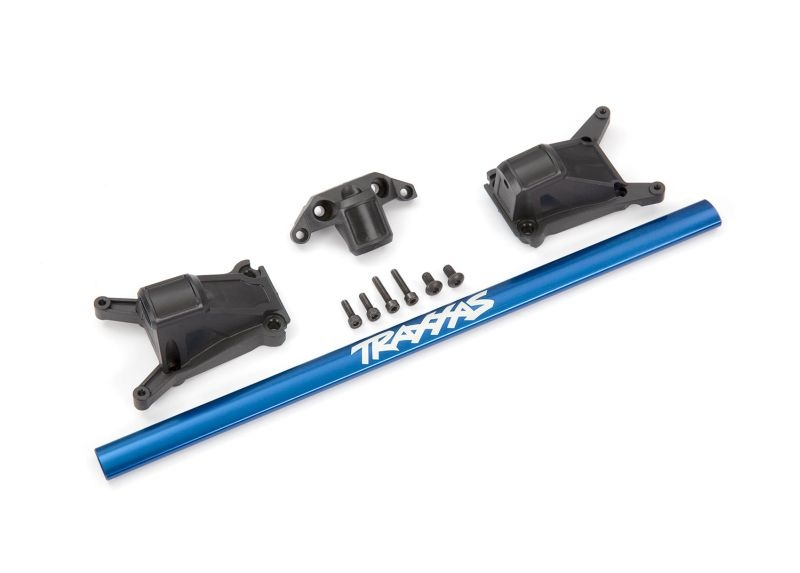 Chassis brace kit blau für LGC-Chassis