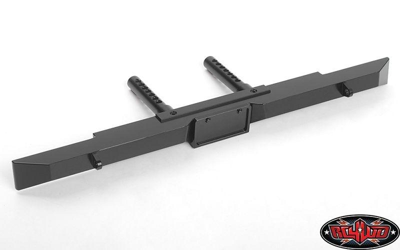 Tough Armor Rear Bumper for Traxxas TRX-4 (Black)