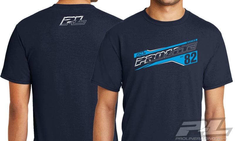 Pro-Line Streak Deep Navy T-Shirt