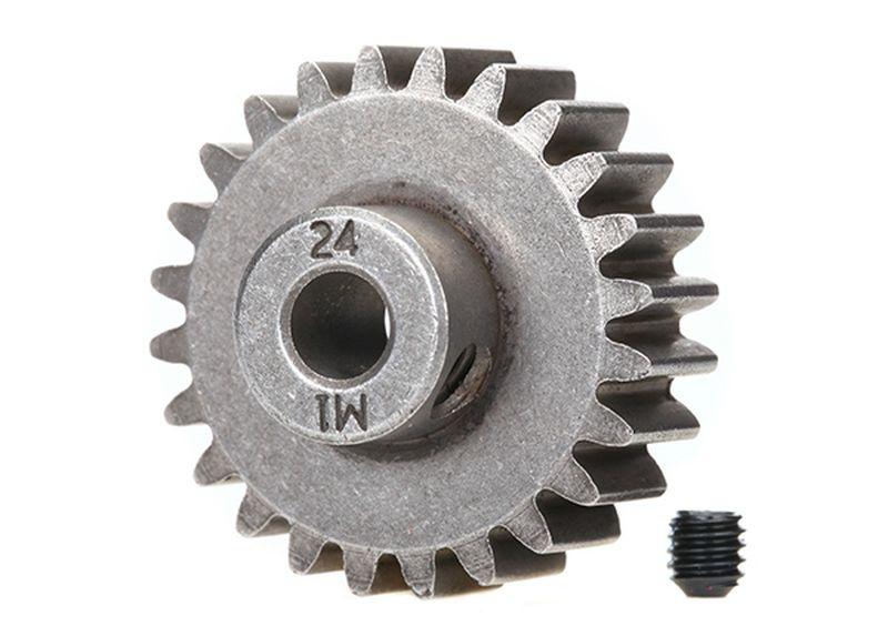Gear, 24-T pinion (1.0 metric pitch) (fits 5mm shaft)/ set s
