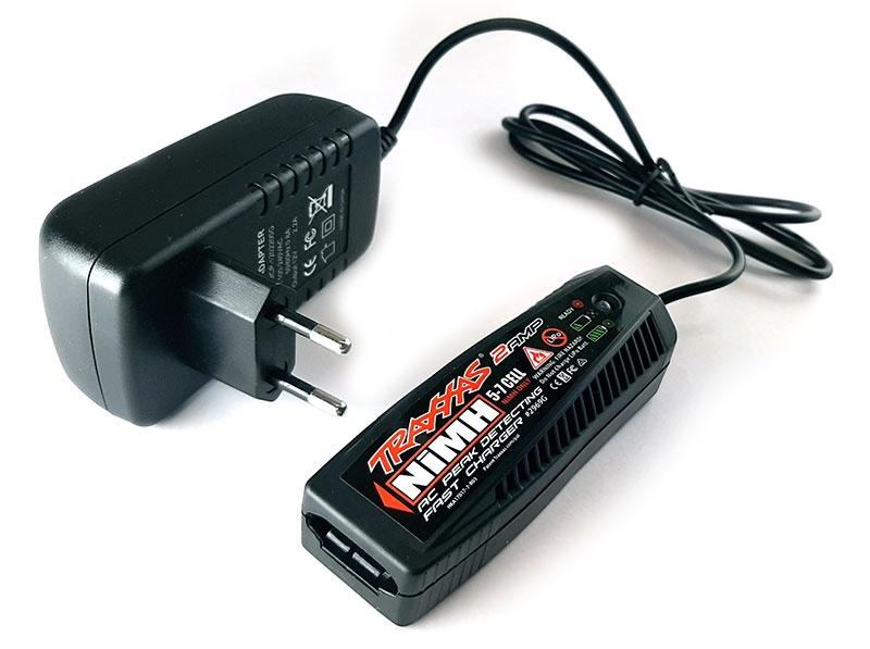 AC-Lader (230V) NiMH Peak-Abschaltung EU-Version