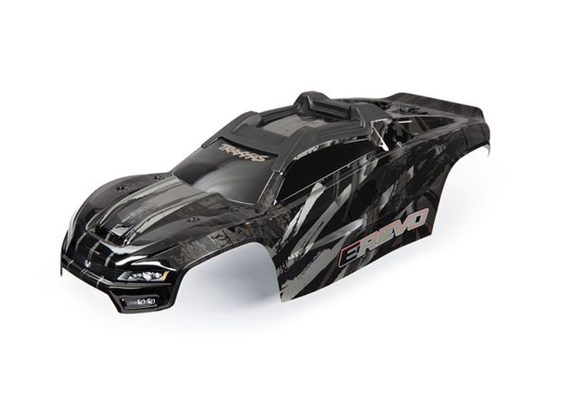 Karo E-Revo schwarz mit Aufkleber