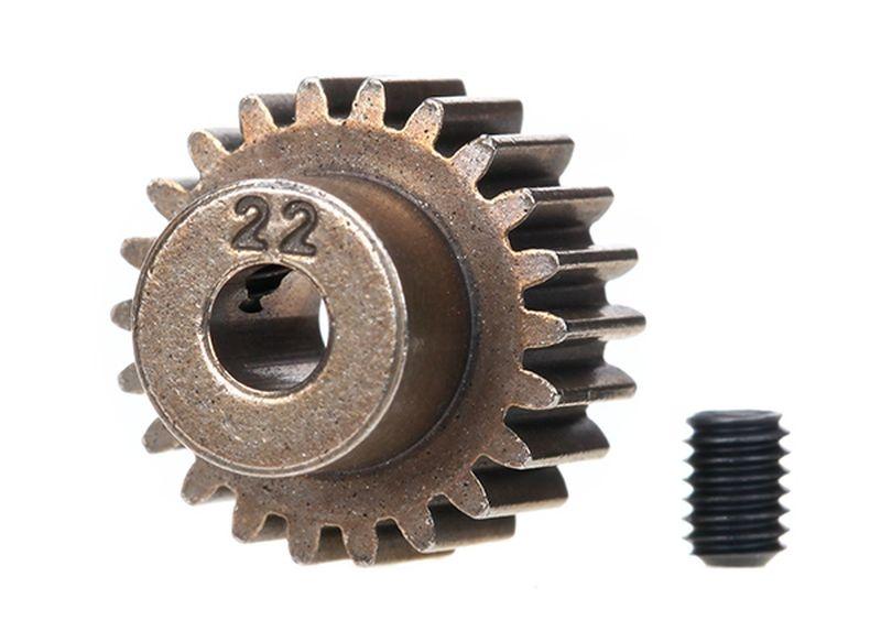 Ritzel 22Zähne (48-pitch) + set screw