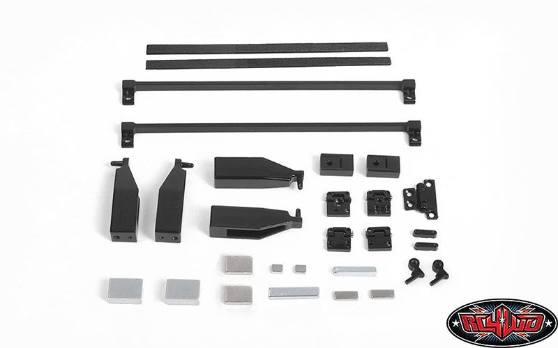 RC4WD 2015 Land Rover Defender D90 Common Metal Parts