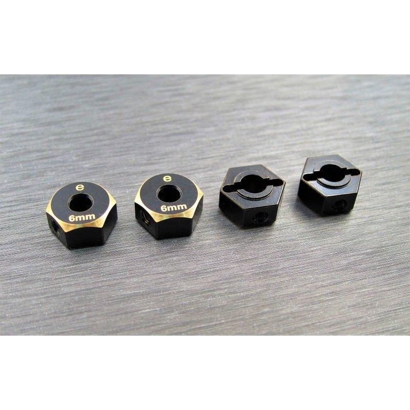 SAMIX Enduro brass hex adaptar (6mm)