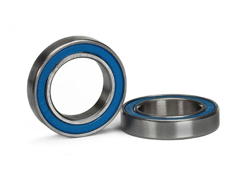 Kugellager, blau Gummidichtung (15x24x5mm) (2)