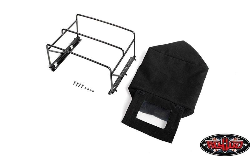 Steel Tube Bed Cage w/ Soft Top for RC4WD Gelande II (Black)