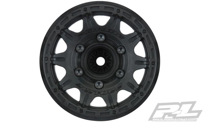 ProLine Raid 6x30 2.8 Felge schwarz autauschbarer Mitnehmer