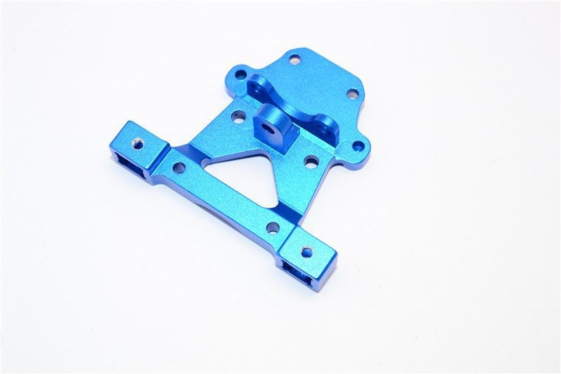 ALLOY REAR BODY POST MOUNT - 1PC blue