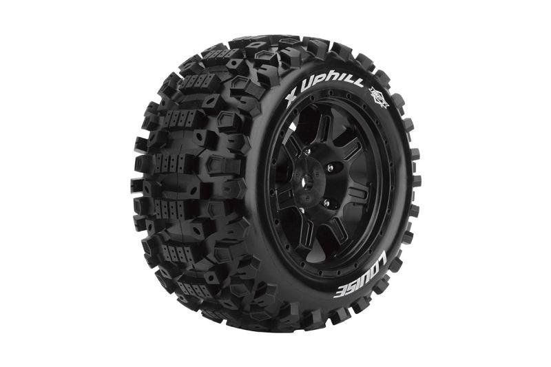 X-UPHIL Sport-Reifen   Felge schwarz