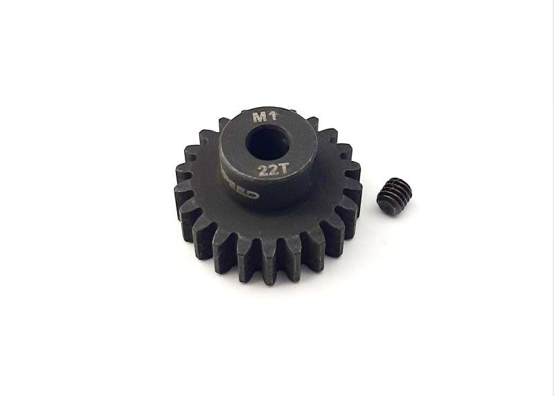 Ritzel 22 Zähne Modul 1, 5mm Stahl