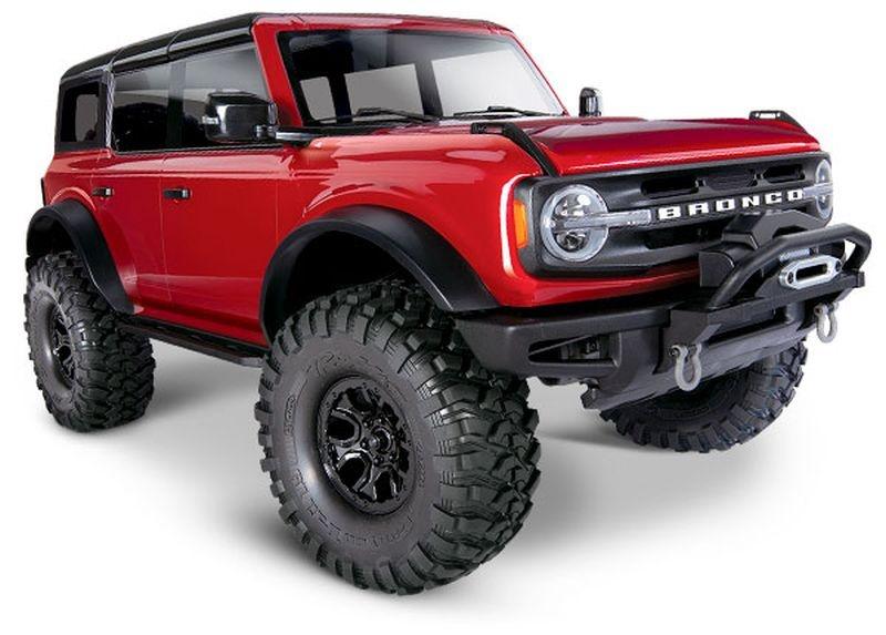 TRAXXAS TRX-4 2021 Ford Bronco rot RTR o. Akku/Lader