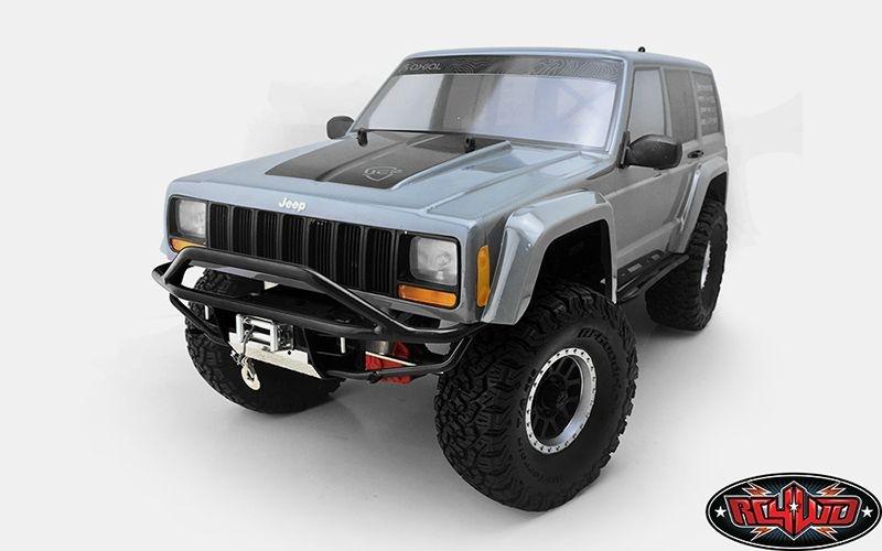 Krabs Front Bumper for Axial SCX10 II XJ (Black)