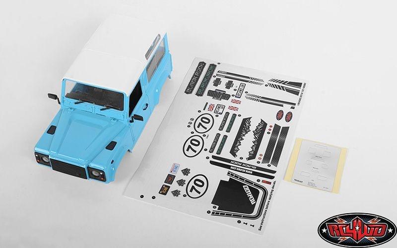 RC4WD D90 Body Set for 1/18 Gelande II (Blue)