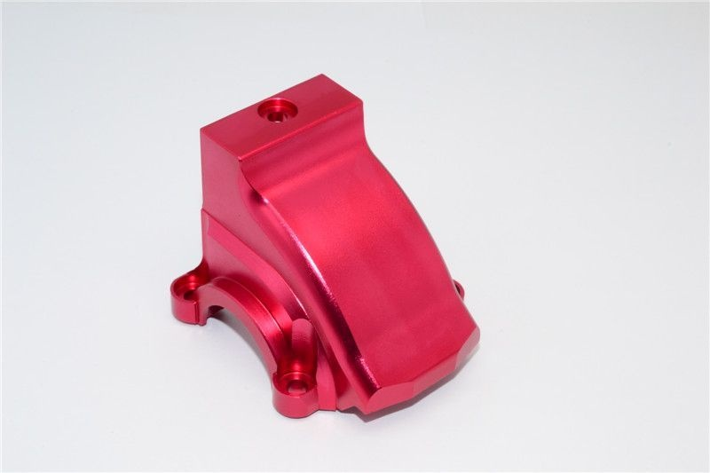 ALUMINIUM FRONT/REAR GEARBOX COVER - 1PC red