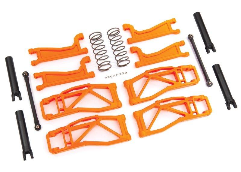 Querlenker-Set WideMaxx orange Querlenker, Spurstangen +Fede