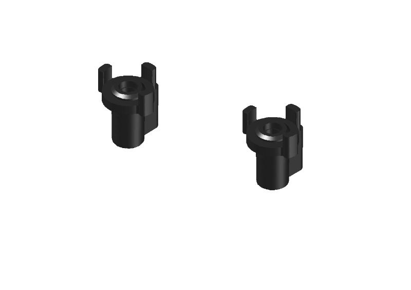 JR128-R01 Adjustable Front-Spring Holders RTR-