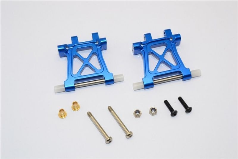 ALLOY REAR LOWER ARM - 1PR blue