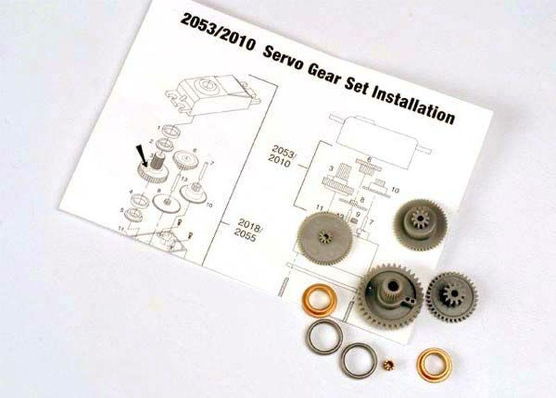 Getriebesatz für Servo 2055
