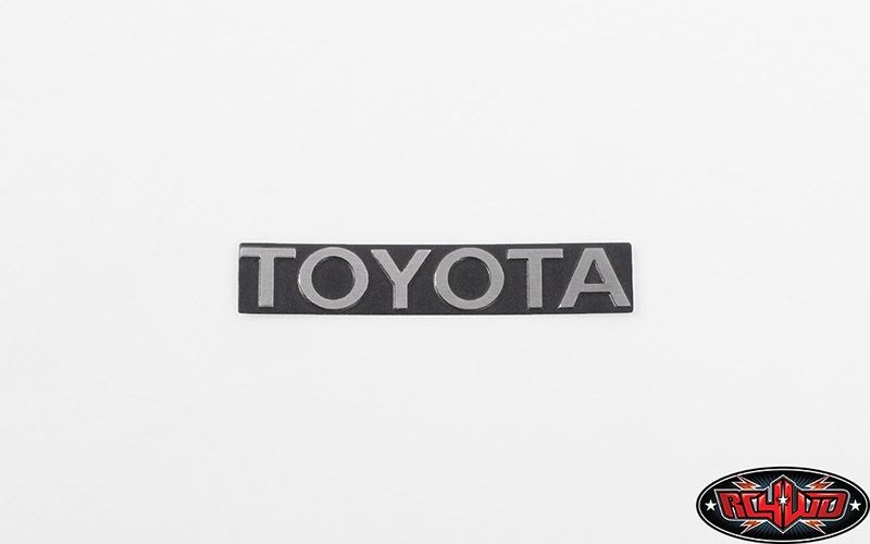 Front Steel Toyota Grille Decal