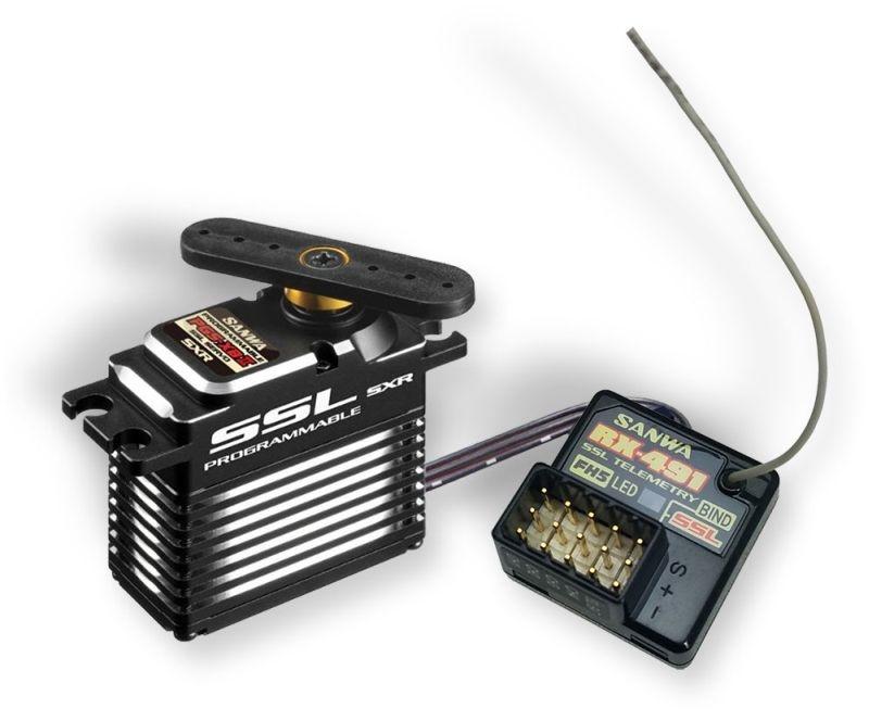 Sonder-Set RX-491  SUR-SSL  Empfänger + PGS-XB II Servo