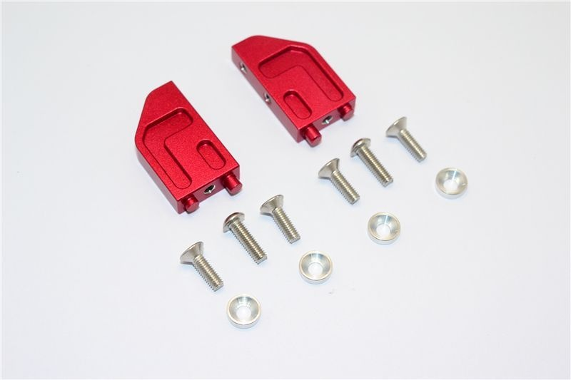 ALUMINIUM SERVO STABILIZER - 12PC SET red