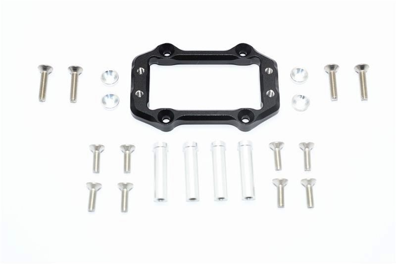 ALUMINUM SERVO MOUNT -21PC SET black