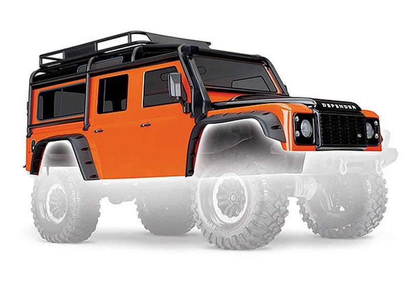 Karo, Land Rover Defender, Adventure-Edition orange/schwarz