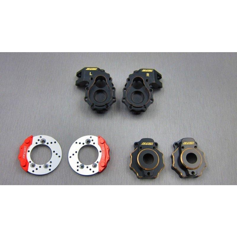 SAMIX TRX-4 brass knuckle & portal knuckle cover