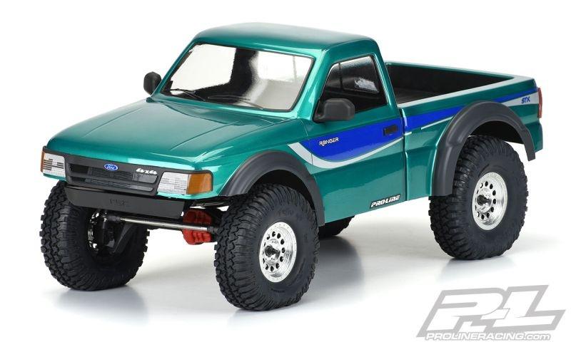Pro-Line 1993 Ford Ranger Scale-Karo klar