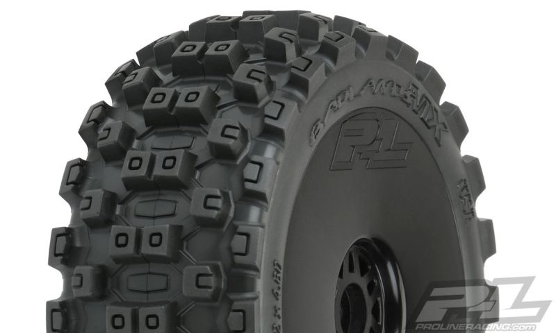 ProLine Badlands MX M2 (medium) auf Felge schwarz v/h