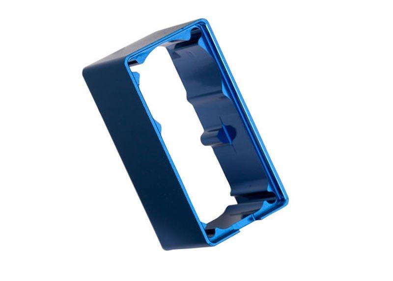 Servogehäuse Mittelteil Alu blau für 2250 Servo