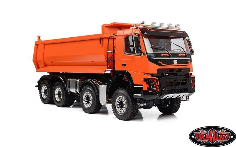 1/14 8x8 Armageddon Hydraulic Dump Truck (FMX) (Orange)
